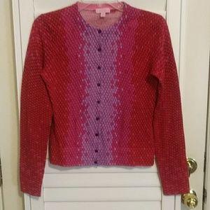 NWOT Vintage Lily Pulitzer Sweater Cardigan